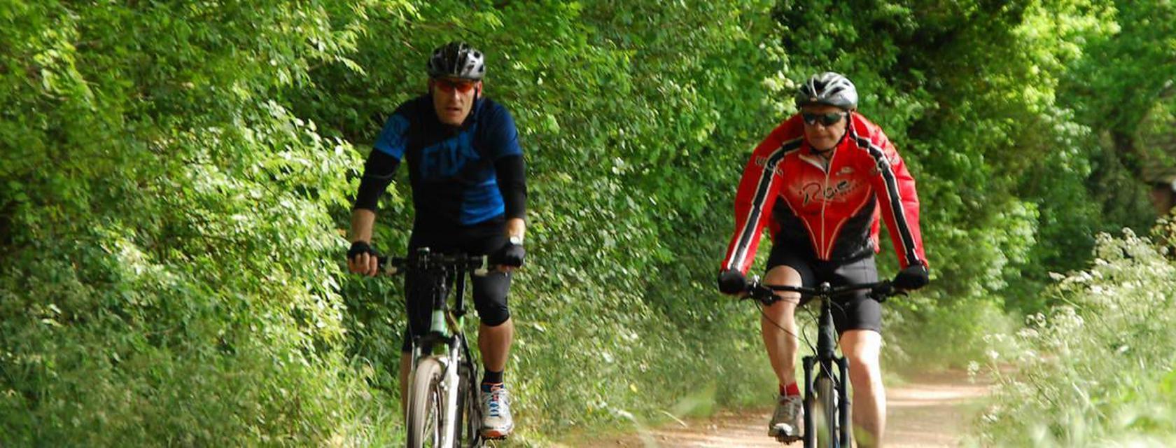 Mountainbiken bij Reuselink